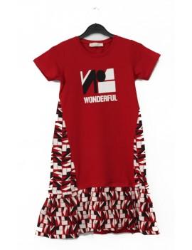 Girl Dress Wonderful Printed