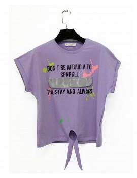 Girls Reflector Cover T-Shirt