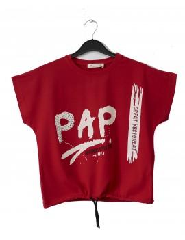 Girls Pap Printed T-Shirt