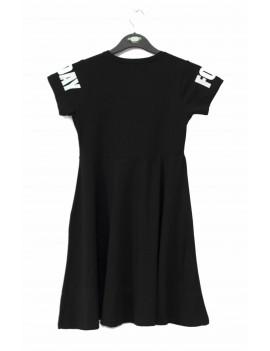 Girls Dress Hoodie Printed