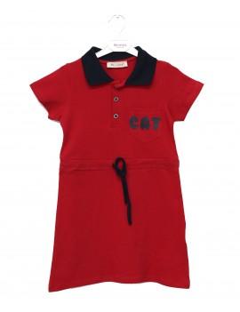 Girls Dress Collared