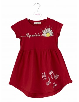Girls Dress daisy  Printed