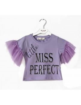 Girls arm tulle T-Shirt
