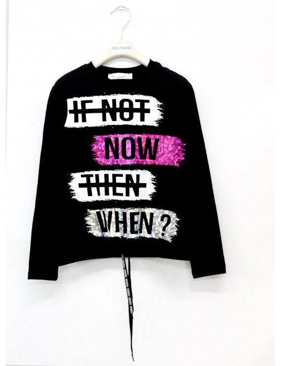 Girls Bady  IF NOT NOW Bright Printing